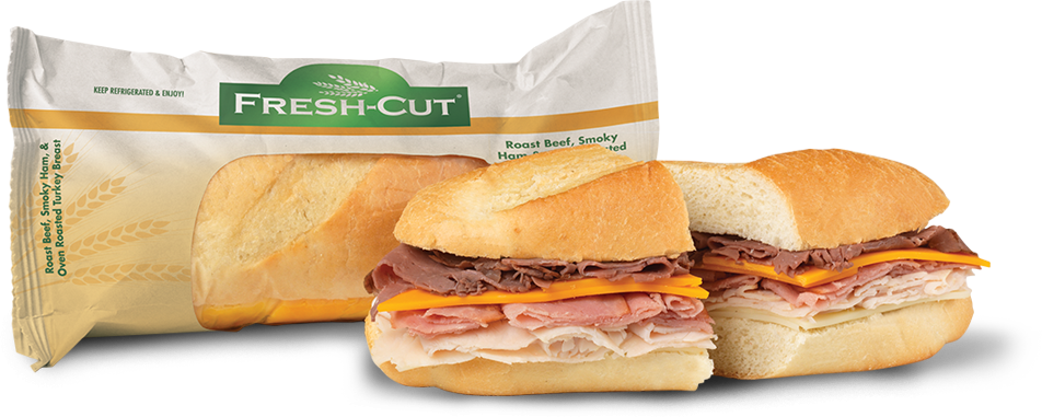 Roast Beef, Smoky Ham & Oven Roasted Turkey Breast Sub